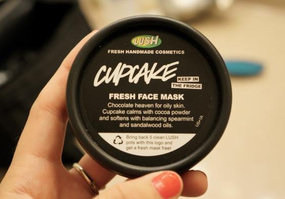 LUSH Cupcake Mask