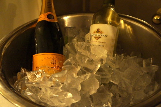 Champagne and Wine