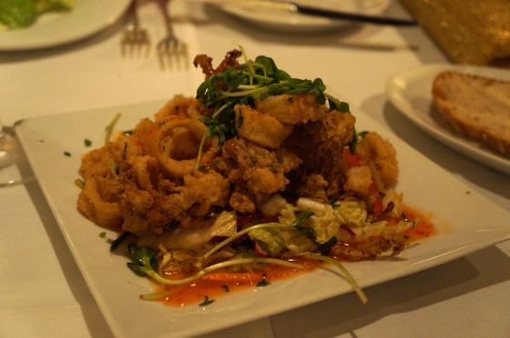 Favorite dish: Calamari