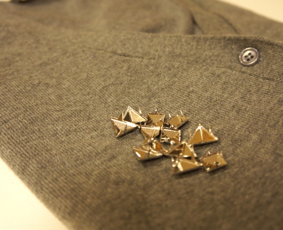 Vintage Zara Sweater + Studs