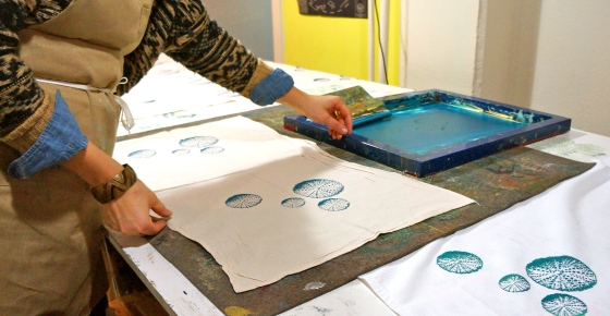 Erin's handcrafted printing