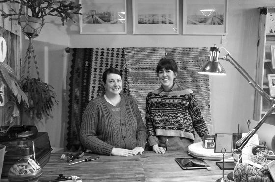 meet the owners! Appetite's sister duo: Megan + Erin