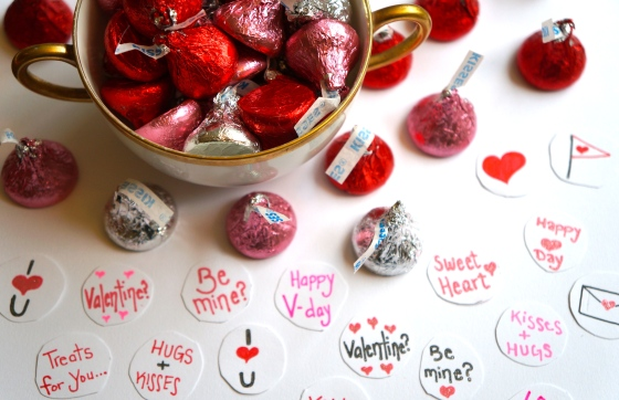 sweet messages for the kisses