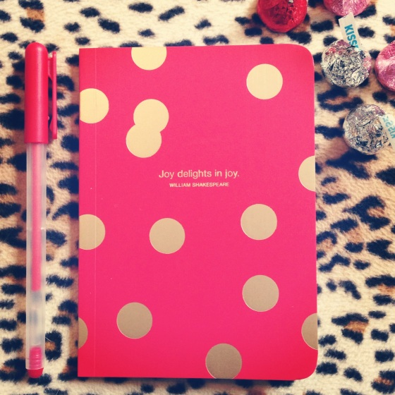 New inspiration notebook for Tangerine Tote