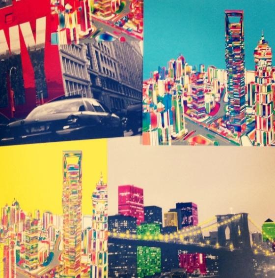 framing postcards