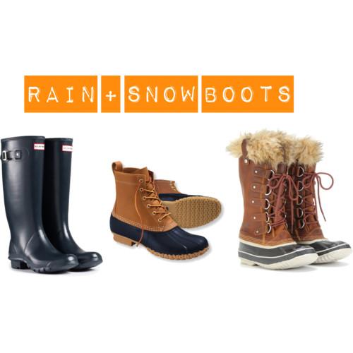 Rain + Snow  Boots