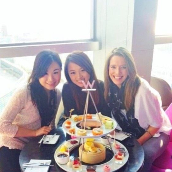 perfect date with my two Hong Kong friends, Winnie and Lam Lam