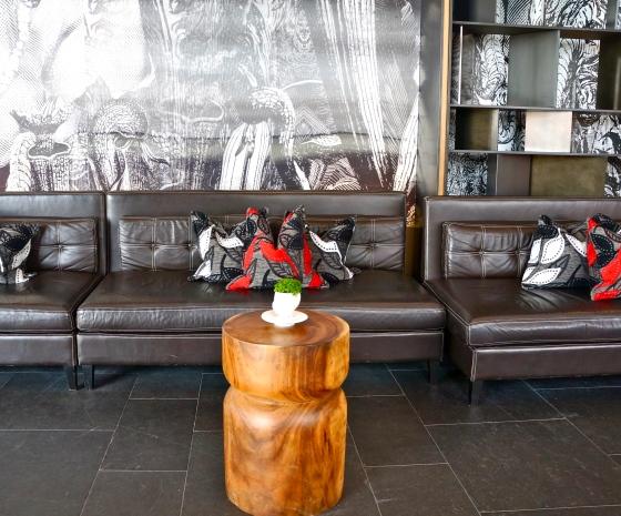 Interior at W Wood Bar