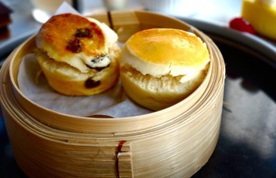 Hong Kong meets British style scones