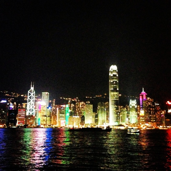 Hong Kong from Victoria Harbour