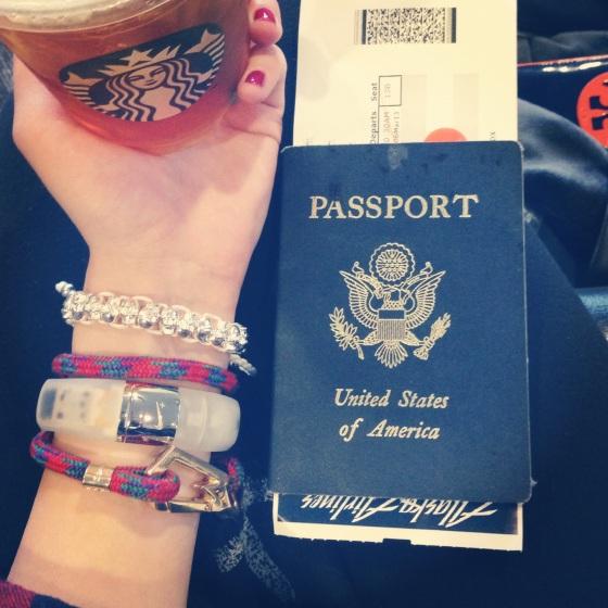 Passport to Hong Kong