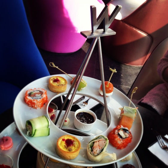 High Tea at W Hotel Hong Kong