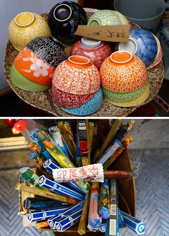 bowls and incense